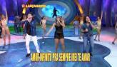 Convidados do Le�o dan�am ao som do 'Bonde do Brasil' (3)