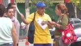 Carteiro abusado causa confus�o pelas ruas