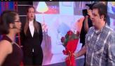 Infiel leva flores para a mulher ap�s 'alisar' sedutora