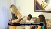 Testado quer pintar corpo da sedutora nua (2)