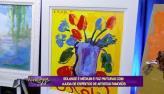 M�dium revela, atrav�s de pinturas, arte de famosos