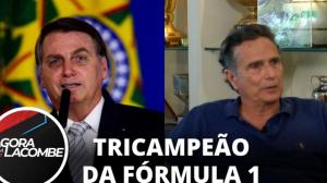 """Nelson Piquet: """"Nunca me envolvi em política e hoje sou Bolsonaro"""""""