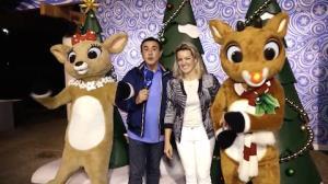 Amaury Jr. mostra tradição de Natal dos EUA que faz a cabeça das crianças