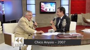 """Em entrevista antiga, Chico Anysio falou sobre beijo gay: """"Ainda incomoda"""""""