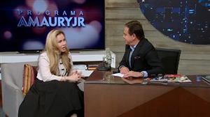 """""""Você já foi cachorra?"""", pergunta Amaury Jr. à Sarah Sheeva"""