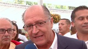 """""""Compromisso do PSDB é com o Brasil, não com o governo"""", afirma Alckmin"""