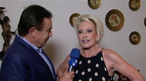 "Ana Maria Braga já teve vaca chamada ""Boiada"": ""Sonhava ser fazendeira"""