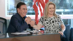 Assista a entrevista exclusiva de Amaury Jr. com a atriz Vera Fischer