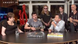 Lilia Klabin entrevista o grupo Rádio Taxi no programa Amaury Jr.