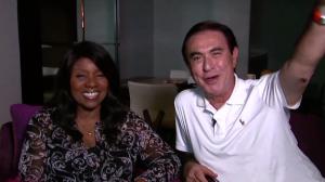 Reveja a conversa de Amaury Jr. com a rainha da disco music, Gloria Gaynor