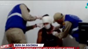 Jovem é agredido por colegas após soltar 'pum' em Foz do Iguaçu