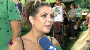Thalita Rebouças fica fora dos desfiles após cortar o pé