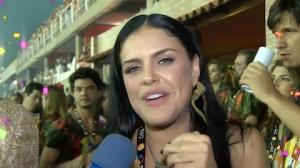 """Rainha da Grande Rio, Paloma Bernardi elogia Ivete Sangalo: """"Contagiou"""""""