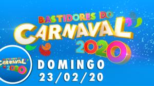 Bastidores do Carnaval: assista à 3ª noite de folia na RedeTV!