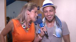 Daniel Rocha confessa que n�o tem samba no p�