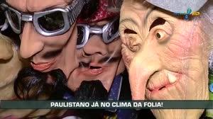 No clima de Carnaval, paulistanos preparam a fantasia