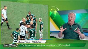 """""""Gol do Palmeiras foi legítimo"""", diz Juarez Soares sobre lance da final"""