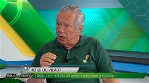 """Juarez Soares: """"Dudu merece ser titular do Palmeiras"""""""