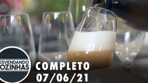 Desvendando Cozinhas: Cervejaria (07/06/21)   Completo