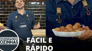 Receita de Bolinho de Chuva com raspas de limão do chef Raul Lemos