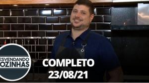 Desvendando Cozinhas: A culinária de festa italiana (23/08/21) - Completo