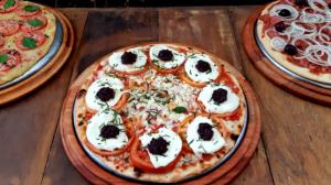 Edu Guedes promove o Festival da Pizza