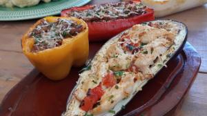 Confira como preparar legumes recheados
