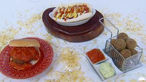 Convidado de Edu Guedes prepara receitas de sanduíches