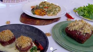Aprenda a preparar receitas de carnes com crostas com Edu Guedes