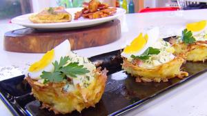 Edu Guedes ensina a preparar receitas variadas com ovos