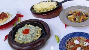 Edu Guedes ensina a preparar receitas de massas e molhos