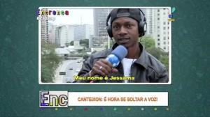 Gringo mostra que Canteixon não é só para brasileiros