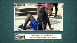 Mimadinho faz escândalo no Rio de Janeiro