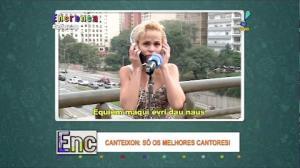 Loirinha mostra o talento feminino ao cantar Beyoncé no Canteixon