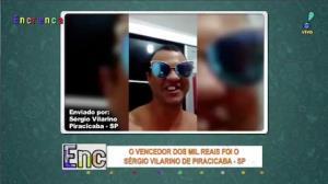 Descubra quem ganhou mil reais na promoção de domingo do Encrenca