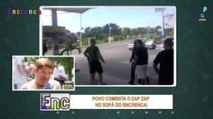 Povo fica surpreso com vídeo de briga em posto de gasolina