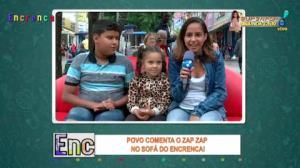 Povo comenta os melhores vídeos do zap zap