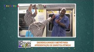 Encrenca leva arte de primeira ao Metrô de São Paulo
