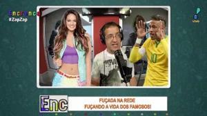 """Bruna Marquezine e Neymar são alvos do """"Fuçada na rede"""""""