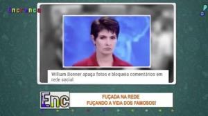 Fuçada na rede: Bonner está certo em apagar fotos de Fátima?