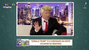 Show da Senhora bate um papo com Donald Trump