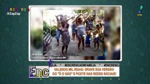 """Família de Guarulhos dança no desafio do """"Ó o gás"""""""