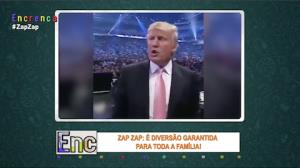 Donald Trump agride homem durante luta