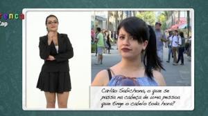 Carlão Sabichona inova nas respostas para o povo