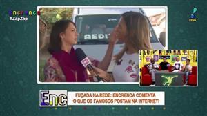 Fuçada na Rede: Entrevistada mata mosquino com tapa na cara de repórter