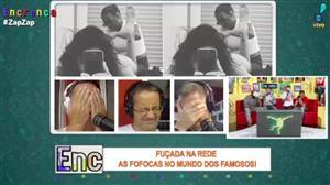 Fuçada na Rede: turma do Encrenca não se aguenta com Luciana Gimenez