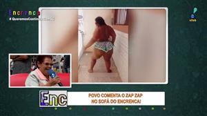 """Tiazinha comenta mulher dançando funk: """"Bunda que não acaba mais"""""""