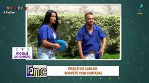 Carlão e Biscui vendem picolé com cantada nas ruas