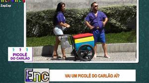 Carlão vende picolé e capricha distribuindo cantadas