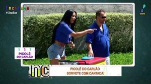 Carlão e Biscui vendem picolé com as melhores cantadas
